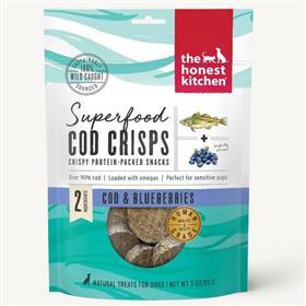 The Honest Kitchen Superfood Cod Crisps Cod Blueberry