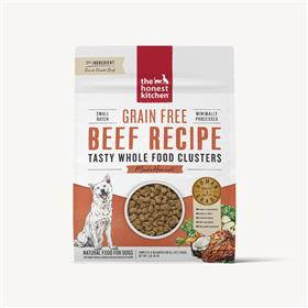 The Honest Kitchen Whole Food Clusters Grain Free Beef
