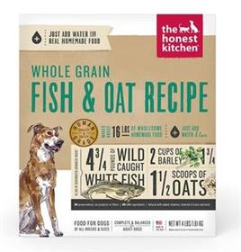 The Honest Kitchen Whole Grain Fish Oat Recipe Dehydrated Dog Food