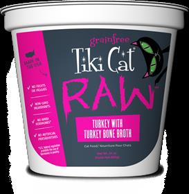Tiki Cat Raw Turkey with Bone Broth