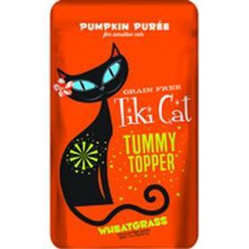 Tiki Cat Tummy Topper Pumpkin Wheatgrass Cat Treat