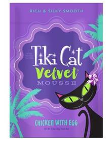 Tiki Cat Velvet Mousse Chicken Egg Grain Free Wet Cat Food