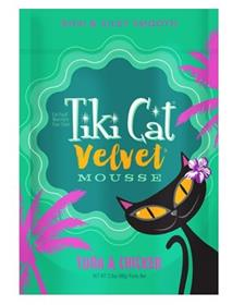 Tiki Cat Velvet Mousse Tuna Chicken Grain Free Wet Cat Food