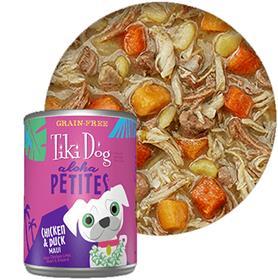 Tiki Dog Aloha Petites Chicken Duck Maui Canned Dog Food