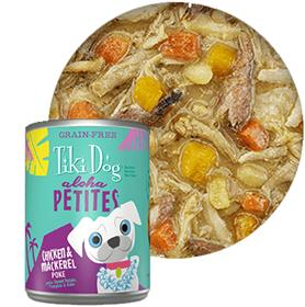 Tiki Dog Aloha Petites Chicken Mackerel Poke Canned Dog Food