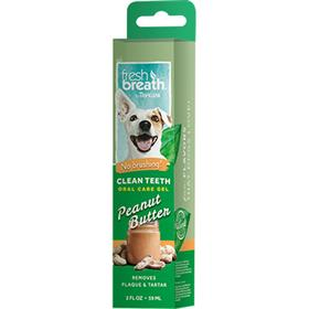 Tropiclean Clean Teeth Oral Care Gel Peanut Butter