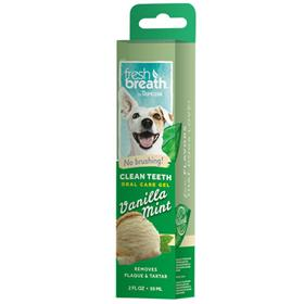Tropiclean Fresh Breath Oral Care Gel Vanilla Mint