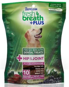 Tropiclean Fresh Breath Plus Hip and Joint