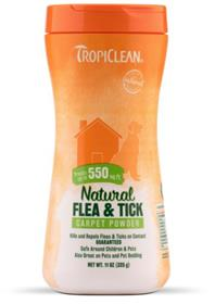 TropiClean Natural Flea and Tick Carpet and Pet Powder