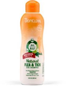 TropiClean Natural Flea and Tick Shampoo Maximum Strength