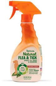 TropiClean Natural Flea and Tick Spray for Pets