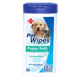 Tropiclean Oxy Med Puppy Wipes