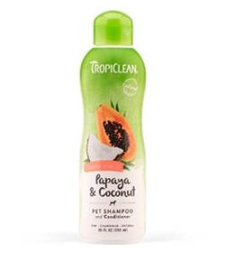 TropiClean TropiClean Papaya and Coconut Luxury 2 in 1