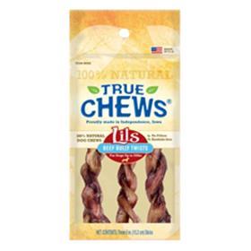 True Chews Little Beef Bully Twists