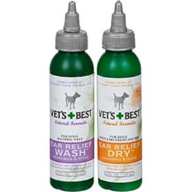 Vets Best Ear Relief Wash and Dry