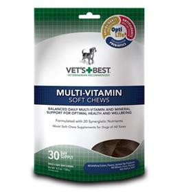 Vets Best Multi Vitamin Soft Chews Supplement