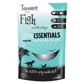 Vital Essentials Cat and Dog Freeze Dried Fish Toppers