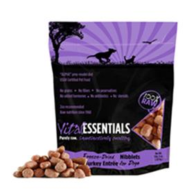 Vital Essentials Freeze Dried Raw Turkey Nibblets