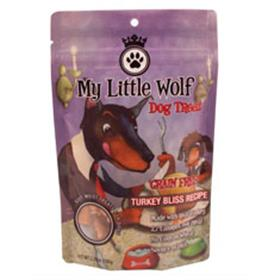 Waggers My Little Wolf Grain Free Turkey Bliss Dog Treats