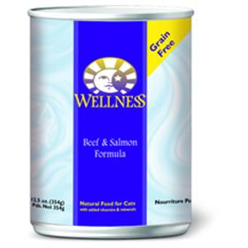 Wellness Cat Canned Beef and Salmon Recipe