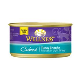 Wellness Cat Canned Cubed Tuna Recipe