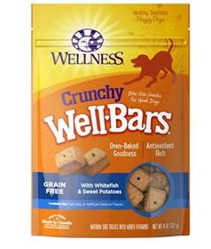 Wellness WellBars Fish and Sweet Potato