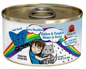 Weruva BFF OMG Love Munchkin Chicken and Pumpkin Grain Free Canned Cat Food