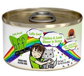 Weruva BFF OMG Selfie Cam Chicken Lamb Dinner in Gravy Grain Free Canned Cat Food