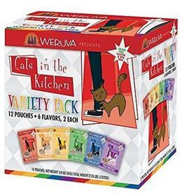 Weruva Cats in the Kitchen Variety Pack Grain Free