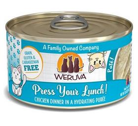 Weruva Classic Cat Press Your Lunch Chicken Pate Canned Cat Food