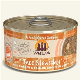 Weruva Taco Stewsday for Cat