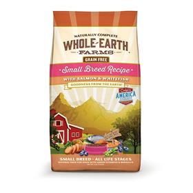 Whole Earth Farms Grain Free Small Breed Salmon and Whitefish Recipe