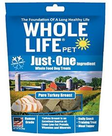 Whole Life Pet Just One Ingredient Pure Turkey Breast for Dogs