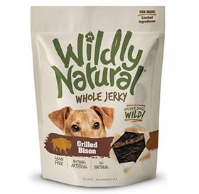Wildly Natural Grilled Bison Whole Jerky Dog Treats