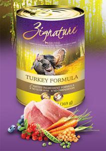 Zignature Dog Can Turkey