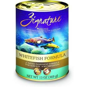 Zignature Dog Can Whitefish