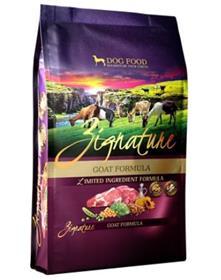 Zignature Goat Formula Dry Food