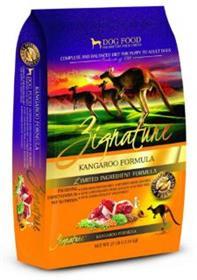 Zignature Kangaroo Formula Dry Food