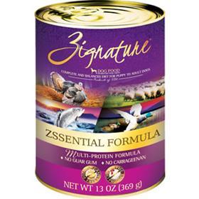 Zignature Dog Can Zssentials