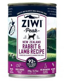 ZiwiPeak Rabbit and Lamb Dog Cans