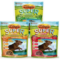 Zukes Super Betas Greens and Berry Dog Treats