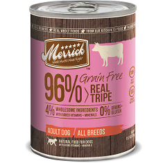Merrick Grain Free Real Tripe Can