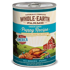Merrick Whole Earth Farms Grain Free Puppy Recipe