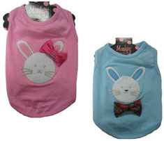 Monkey Daze Bunny Bow Shirt