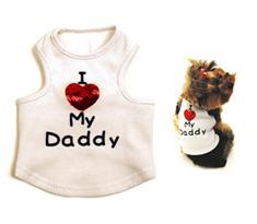 Monkey Daze I Love My Daddy Designer Tank Top