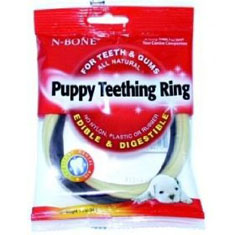 N Bone Puppy Teething Ring