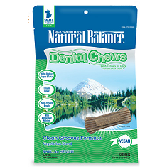 Natural Balance Clean Grooves Vegetarian Blend Dental Chew