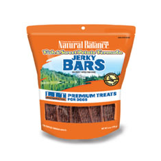 Natural Balance Fish and Sweet Potato Jerky Bars