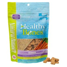 Natural Balance Healthy Bones Lamb Quinoa and Carrots Dog Treats