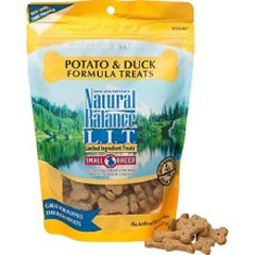 Natural Balance Limited Ingredient Duck Potato Small Breed Treats